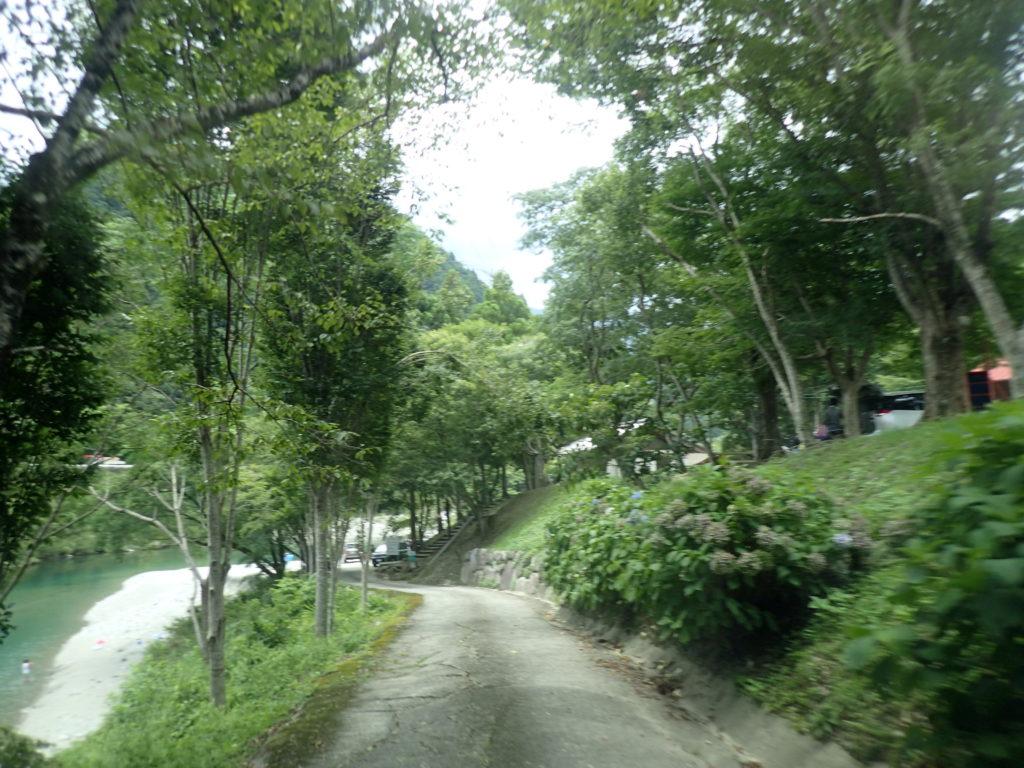 宮崎の河原キャンプ場入り口