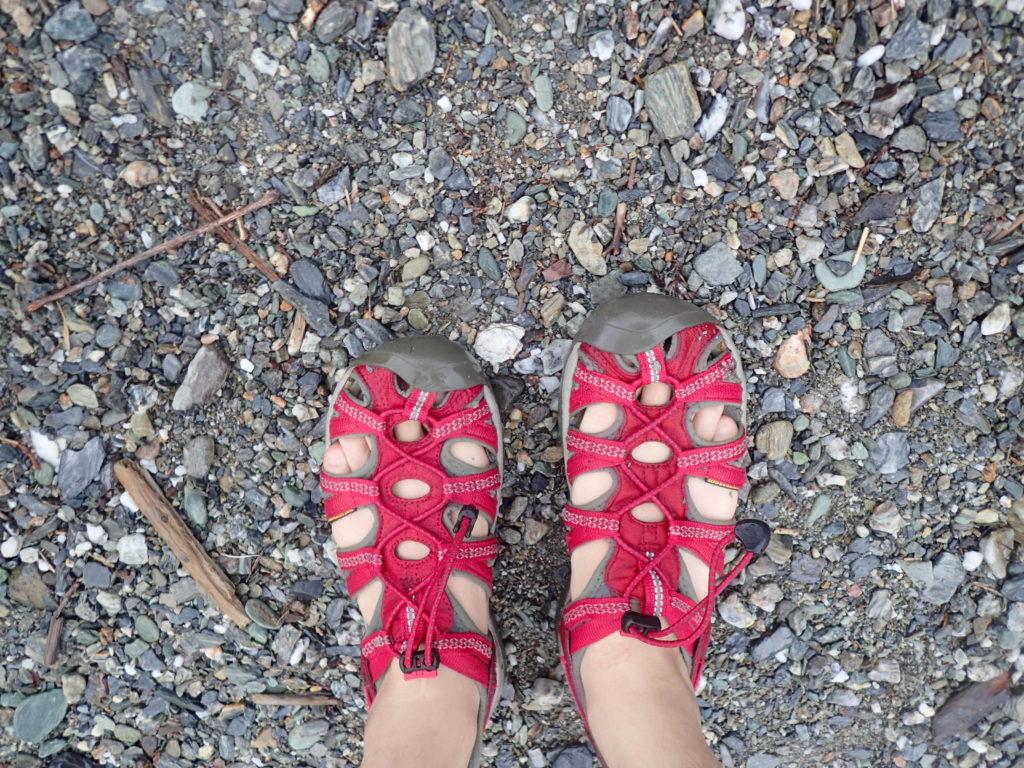 川遊びにおすすめの水陸両用履