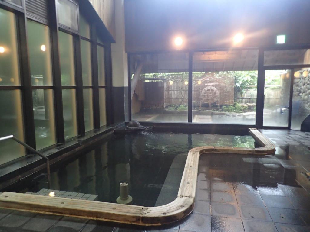 中津渓谷 ゆの森 内風呂