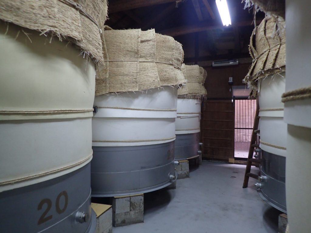 富士酢 静置発酵