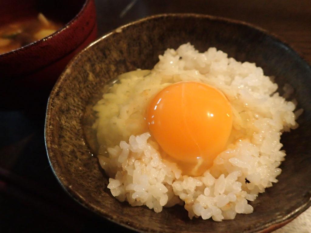 深層水育ち 富士山麓たまご 卵かけご飯