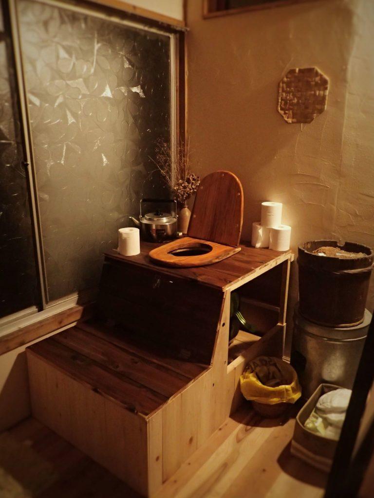 コンポストトイレ完成