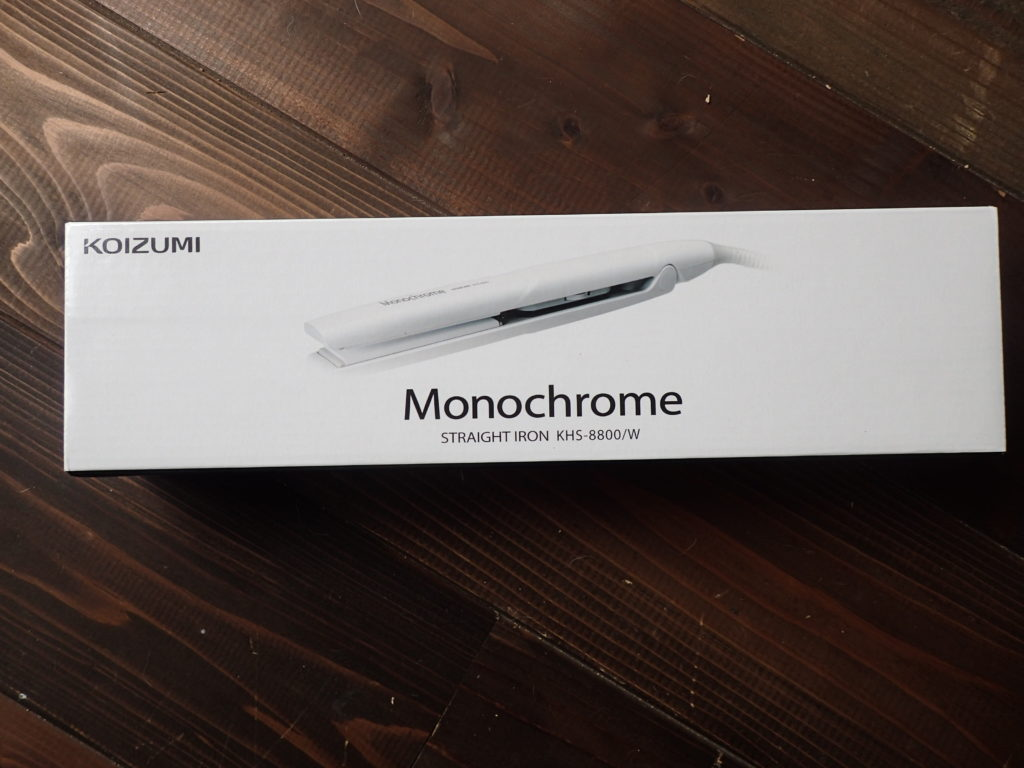 「コイズミ」のヘアアイロン・Monochrome