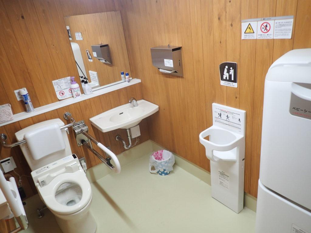 大川村 村のえき トイレ