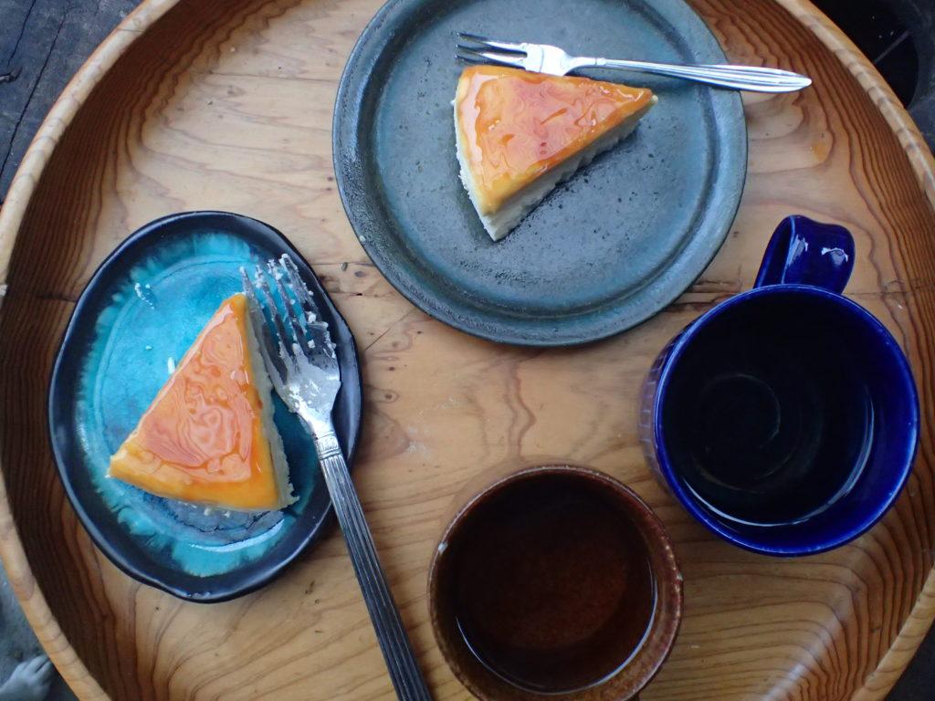 森山ナポリ チーズケーキ