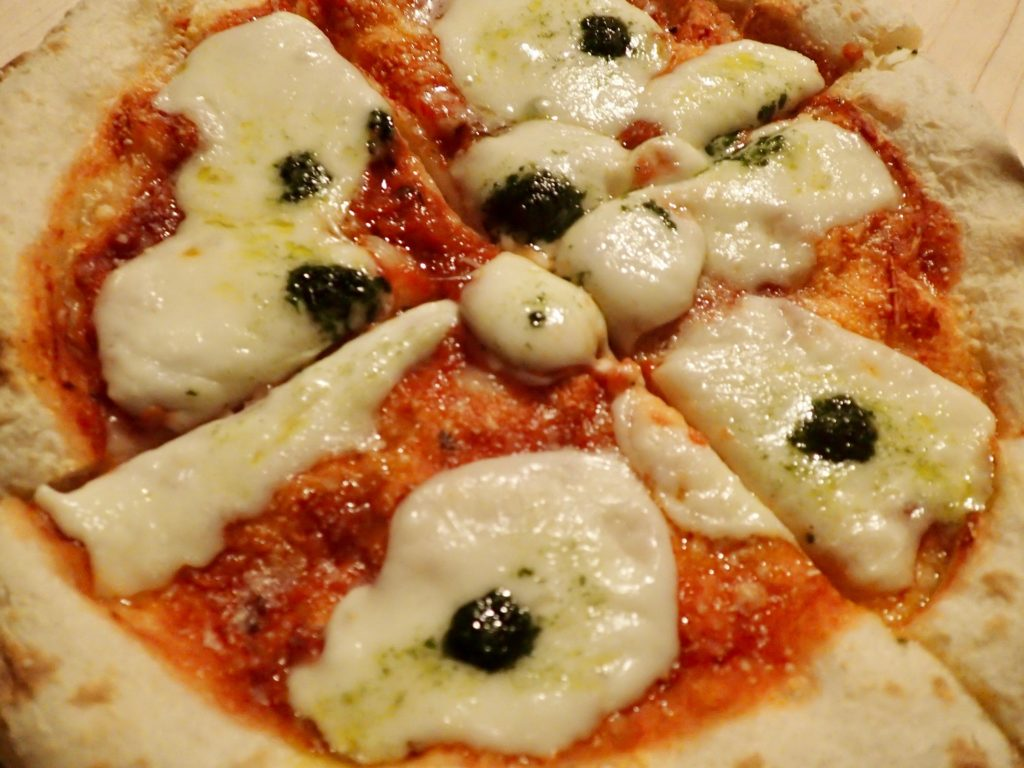 森山ピザ ダブルチーズマルゲリータ