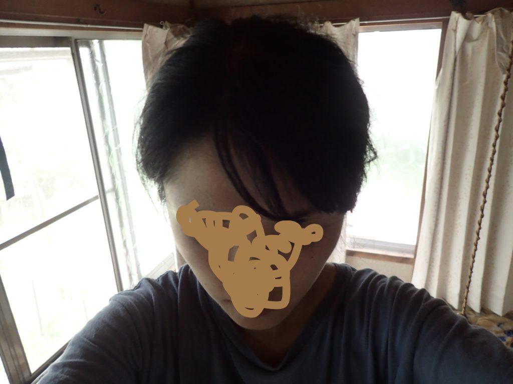 前髪 アイロン