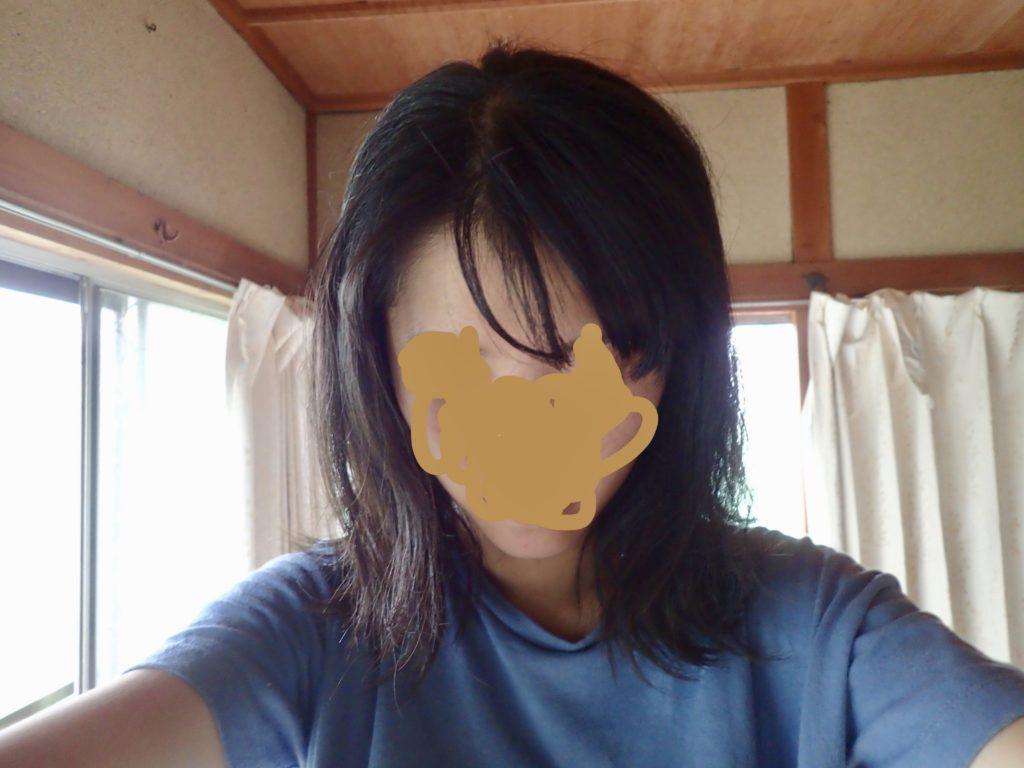 横髪 アイロン