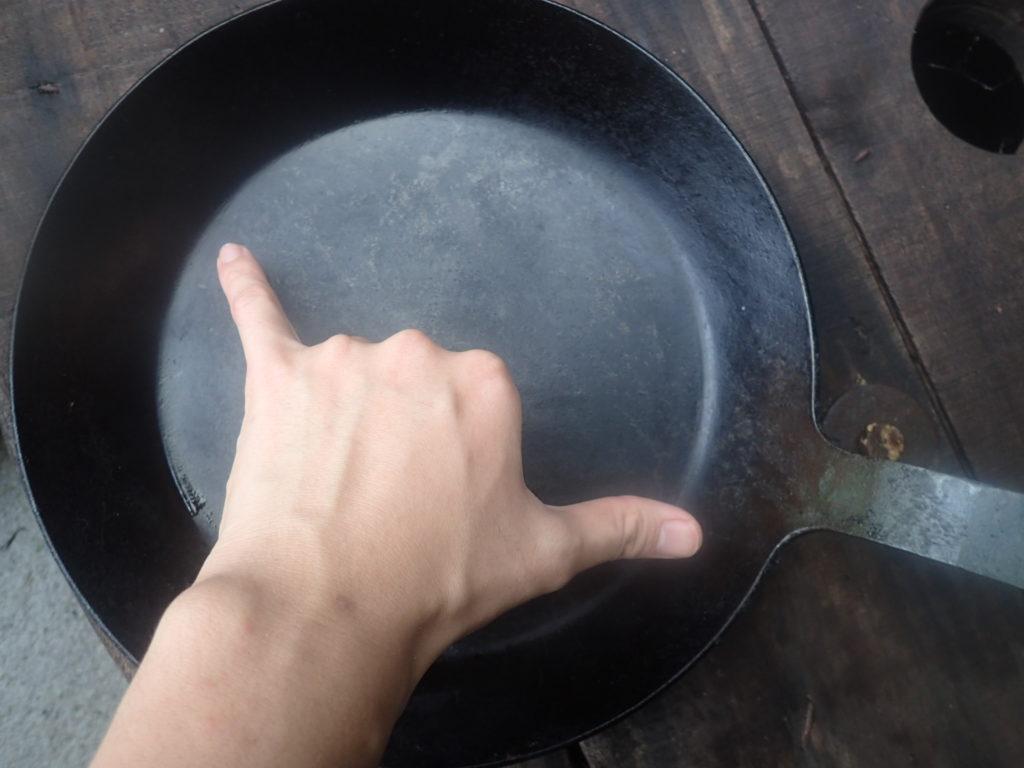 「turk(ターク)」の鉄フライパン