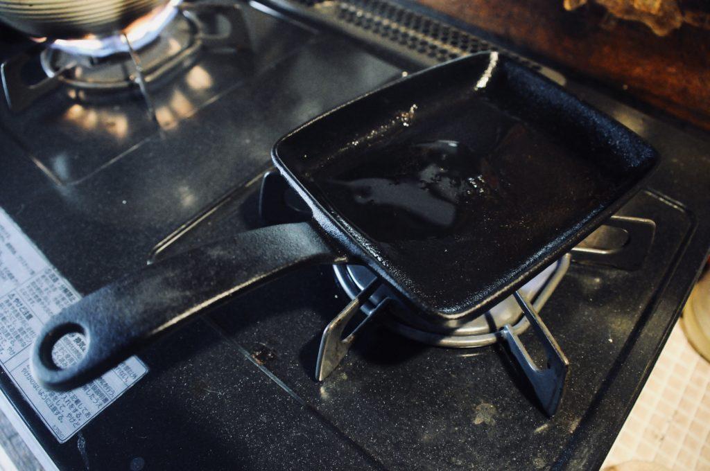 鉄 卵焼き器