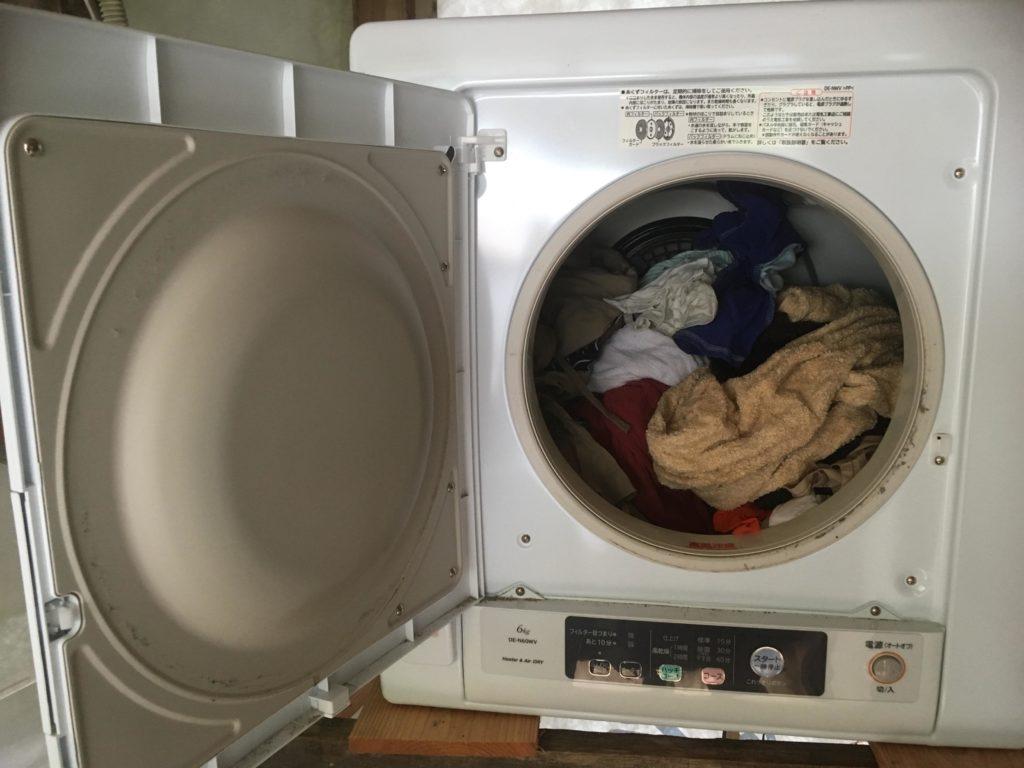 日立の衣類乾燥機「DE-N60WV-W」